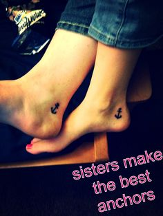 Matching sister tattoos <3