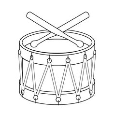 View the pictures of a toy drum and drumsticks. Print and color the toy drum drawing. Christmas Toys, Christmas Stockings, Christmas Ornaments, Coloring Sheets, Coloring Pages, Children's Pop Up Books, Drums Pictures, Music Cookies, Drum Drawing