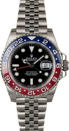 Rolex GMT-Master II Pepsi My Trending Lifestyles Stylings of a Gentleman Men's Watches www. Men's Watches, Breitling Watches, Rolex Watches For Men, Cool Watches, Fashion Watches, Luxury Watches For Men, Rolex Gmt Master, Best Kids Watches, Gentleman