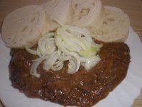 Goulash, Meat Recipes, Baked Potato, Potatoes, Menu, Ethnic Recipes, Menu Board Design, Potato, Baked Potatoes