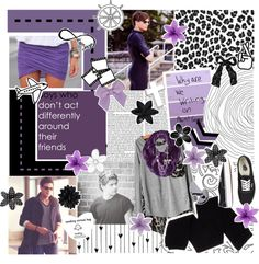 """""""16. a set with a paint sample with writing."""" by hailey-direction ❤ liked on Polyvore"""