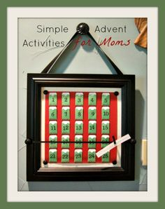 Daily Advent Activities for Moms: December 23