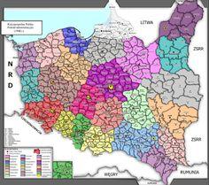 Alternative Polish Borders after 1945 by PolishAlternate on DeviantArt Polish Symbols, Poland Map, The Old Curiosity Shop, Polish Folk Art, Fantasy Map, Alternate History, Pretty Photos, Fantasy Inspiration, Historical Maps