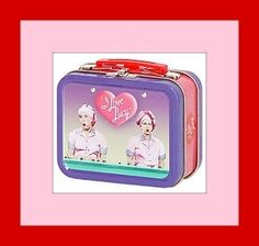 Collectable I Love Lucy lunch box.