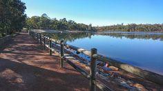 Hiking Chidlow to Mundaring via Lake Leschenaultia and the Railway Reserves Heritage Trail, Perth, Australia