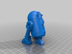 #3D Printing - R2-D2 Highly detailed by carlimp - Thingiverse - want one!!