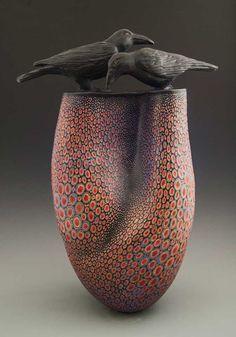 ceramic Art NEW__Melanie Ferguson Ceramics Ceramic Birds, Ceramic Animals, Ceramic Clay, Ceramic Pottery, Pottery Art, Clay Birds, Ceramic Pots, Pottery Designs, Art Sculpture