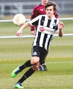 Harry Styles playing soccer. 2 of my favorite things