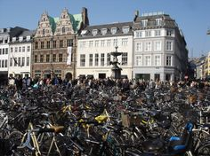 Denmark routinely tops the list of the happiest countries in the world. In Copenhagen, one in three people cycles to work or school.