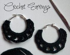 30 Minute Classic Crochet Earrings | AllFreeCrochet.com