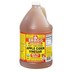 Braggs Raw Apple Cider Vinegar...one of my old skinny tricks.  Just mix a shot of this with water and drink it.  It has a really bitter tastes but boosts your metabolism and also curbs cravings.  Need to start doing this more....