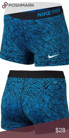 """Nike Pro Cool 3"""" Compression Shorts Nike Pro Cool 3"""" Compression Shorts - Women's One of the most versatile training shorts just got a better fit and better fabric. Here are you new go-to shorts.  Wider Nike Pro waistband improves the fit, keeping your shorts in place while you're in motion. Dri-FIT® fabric wicks sweat to keep you cool and dry. 80% polyester/20% spandex. 3"""" inseam. Imported. Nike Shorts Nike Spandex, Compression Shorts, Nike Pros, Nike Shorts, Fashion Design, Fashion Tips, Fashion Trends, Nike Women, Training"""
