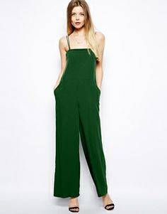 Image 1 ofASOS Loose Strappy Jumpsuit