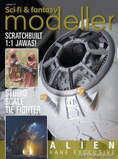 For more photos and info visit Sci-Fi & Fantasy Modeller vol. 37 sneak peak - http://culttvman.com/main/sci-fi-fantasy-modeller-vol-37-sneak-peak/