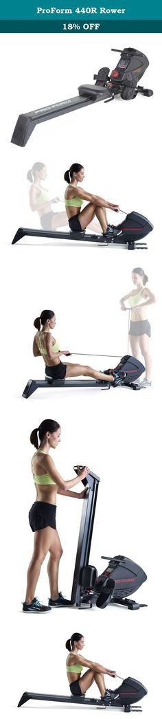 proform 440r rower exercise machine