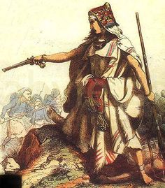 Lalla Fatma N'Soumer (1830-1863). Important member of Kabylian resistance against the French colonization of Algeria. Led an insurrection against the French, defeating them at the battle of Oued Sebaou. Mobilized both the men and women of Kabylia against them. Nicknamed the Joan of Arc of the Djudjura. Symbol of Algerian resistance; still venerated today.
