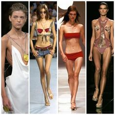 Models are meant to be the perfect women, when they are this skinny it just promotes anorexia