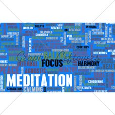Words descriptions about meditation ☆