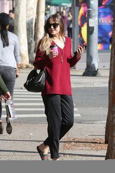 Dakota out in West Hollywood (Jan. 12th,2018). Cr. @DakotaJDlife