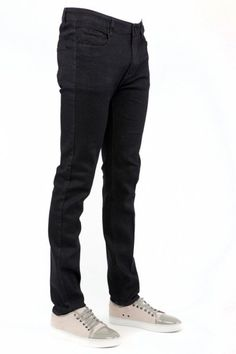 Men's Skinny-Fit Cotton Stretch Jeans