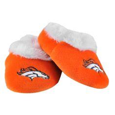Denver Broncos Logo Baby Booties