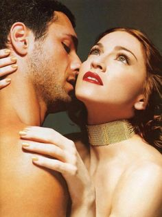 Madonna & Raoul Bova for Max Factor
