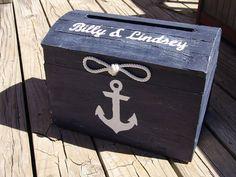 Personalized Navy Blue Nautical Themed by seashellsbyseashore