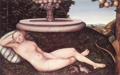 The Athenaeum - The Nymph of the Fountain (Lucas Cranach the Elder - )