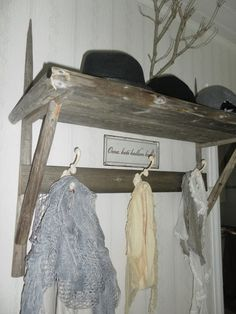 Heinäseiväs naulakko Wardrobe Rack, Diy And Crafts, House, Furniture, Interiors, Home Decor, Ideas, Decoration Home, Home