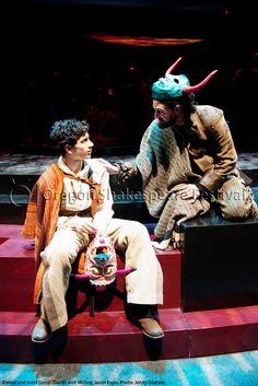 Oregon Shakespeare Festival. ROMEO AND JULIET (2012): Daniel José Molina and Jason Rojas. Photo: Jenny Graham.