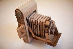 cardboard camera model