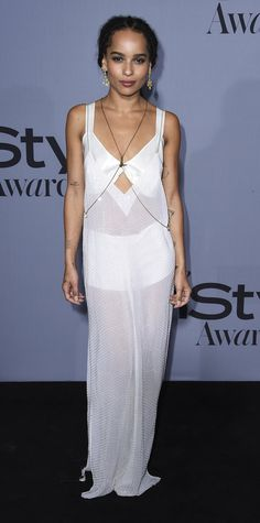 See the Stars on the 2015 InStyle Awards Red Carpet - Zoë Kravitz - from InStyle.com