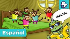 Learn to count and subtract with our Spanish 5 Monkeys children song! This music video will your kids moving and learn Spanish!