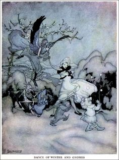 Art by Arthur Rackham (1919) from the book SNICKERTY NICK.  Source: http://archive.org/details/snickertynick01ford