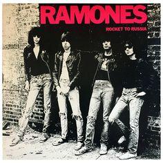 Original the Ramones, Rocket to Russia Vinyl Record