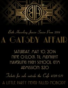 #Class of 2014 Senior Prom CLHS. OMG @Jo Jo Skye  prom is tomorrow!? My prom theme is Great Gatsby. I can't believe tomorrow is Prom. O.o it's too surreal...