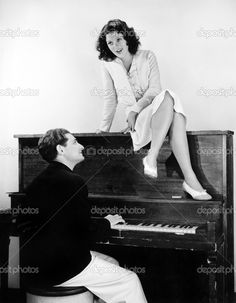 depositphotos_12294592-Woman-singing-on-an-upright-piano-with-a-friend-playing.jpg (795×1023)