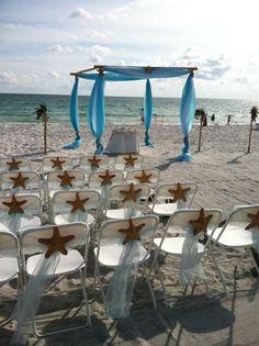 Aqua Beach Ceremony
