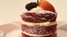 Aprenda a fazer em casa esse bolo lindo!