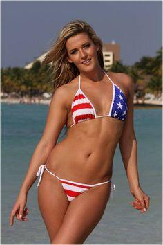 Patriotic String Tonga Thong Bikini #patriotic   #tonga   #thong   #bikini   Get this bikini Now!