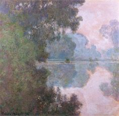 Morning on the Seine, near Giverny - Claude Monet