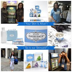 Dairyface Fresh - Your Skin is Alive! So is our Skincare! #fresh #dairy #skincare #probiotics
