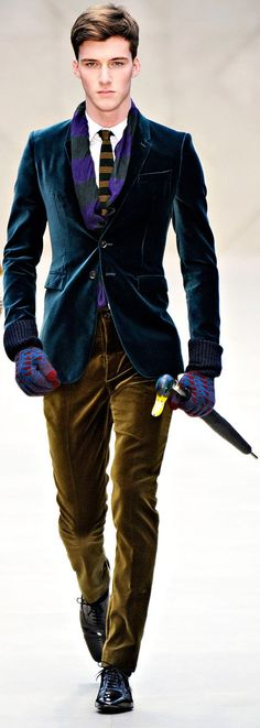 #Burberry fall #menswear collection