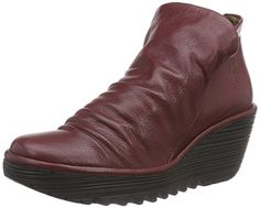 Fly London Womens Yip Cordoba Red Mousse Dress Boot - 41 * Continue to the product at the image link.