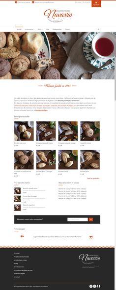 Site ecommerce Biscuiterie Navarro, biscuits provençaux www.biscuiterie-navarro.fr. Missions : #webmarketing #brandcontent #SEO #wordpress refonte de la boutique en ligne et #identitegraphique. Création par Fourmi Volante
