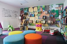To inspire little ones to keep coming back to their library to learn and play…