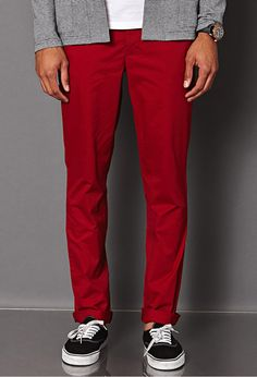 Burgundy Chinos by 21men. Buy for $22 from Forever 21