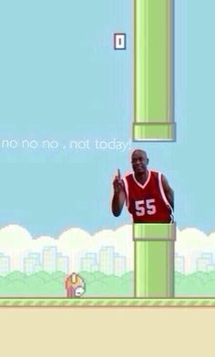 Only played flappy bird for three minutes and deleted it, but....lmao