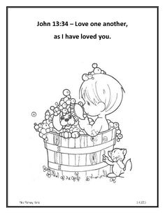 bible memory verse coloring pages - photo#5