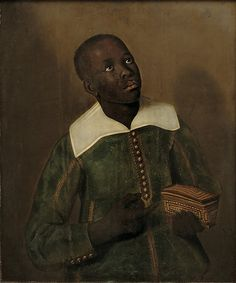 Jaspar Beckx Portrait of Diego Bemba, Servant of Don Miguel de Castro, Emissary of Soyo Netherlands Oil on Panel, 75 × 62 cm. This picture by the Dutch still-life painter Jaspar Beckx belongs to a triptych owned and likely commissioned by. African History, African Art, Albert Eckhout, Black History, Art History, Ancient History, Kingdom Of Kongo, Don Miguel, Dutch Still Life